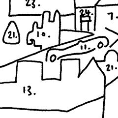 Malvern Cityscape Map