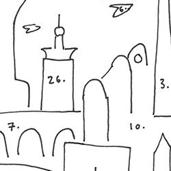 Newcastle Cityscape Map