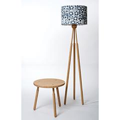 Lampshade stands emma hardicker silkscreen artist designer and light sweet chestnut lampshades aloadofball Choice Image